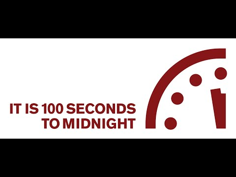 Doomsday Clock Moved 20 Seconds Closer To Global Catastrophe