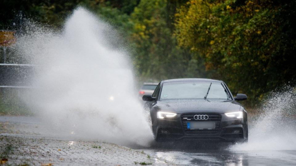 Audi driver