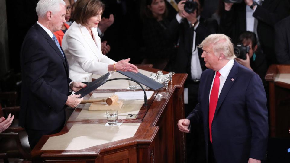 Donald Trump Nancy Pelosi