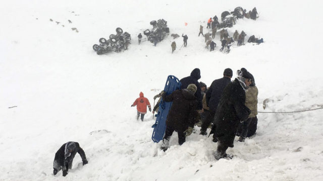 Second avalanche kills at least eight rescuers in Turkey
