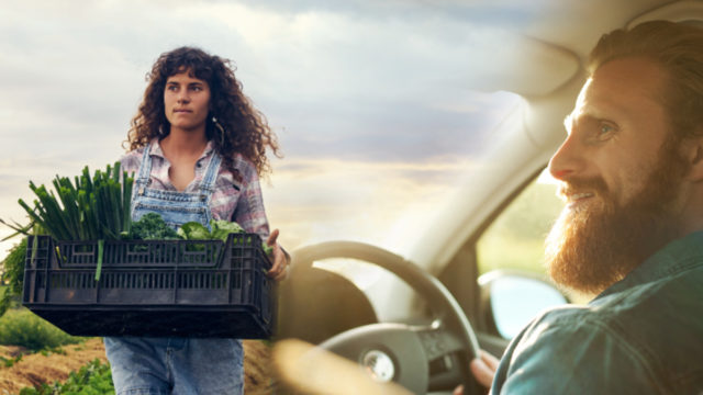 IBISWorld says the future is bright for organic farming and ride-sharing services.