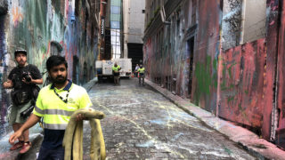 hosier lane vandals