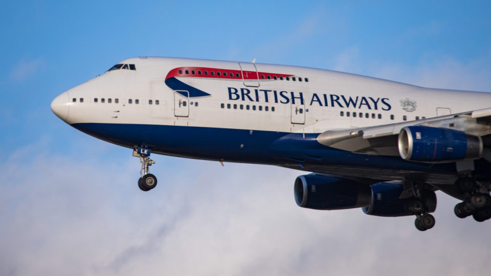 british airways atlantic record