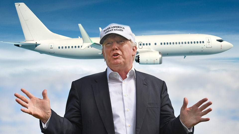 Boeing Donald Trump