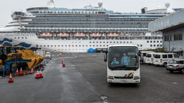 Plans under way to evacuate Australians from Diamond Princess
