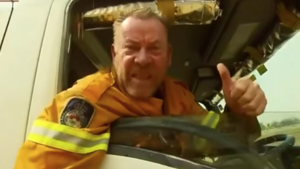 paul parker firefighter sacked