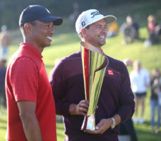 Tiger Woods Adam Scott