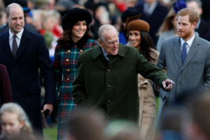 Prince Philip Prince Wiliam Prince Harry Meghan Markle Kate Middleton