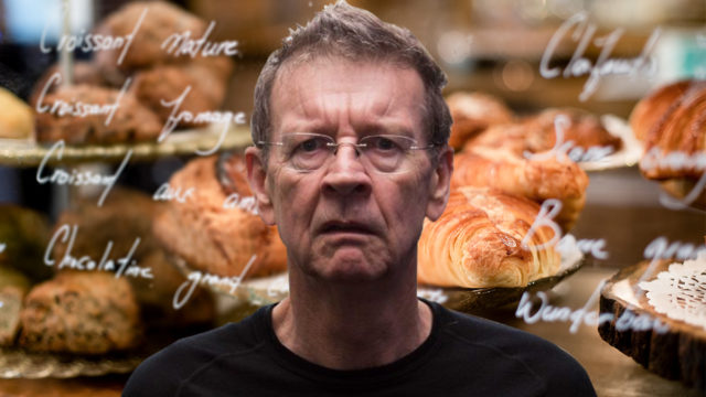 Red Symons' croissant joke had layers – but the bakery server couldn't see them