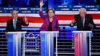 democrats bloomberg warren