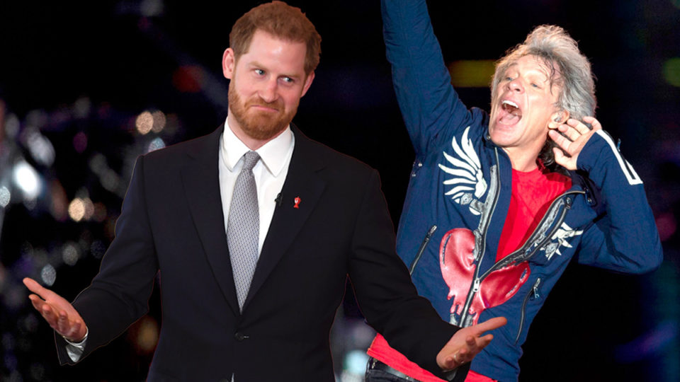 prince harry bon jovi