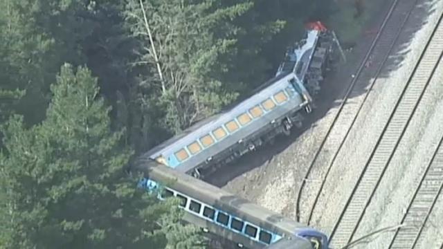 Runaway train. Speed factor in fatal train crash