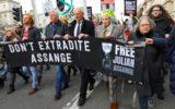 Assange protest