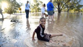 rain st georg floods qld