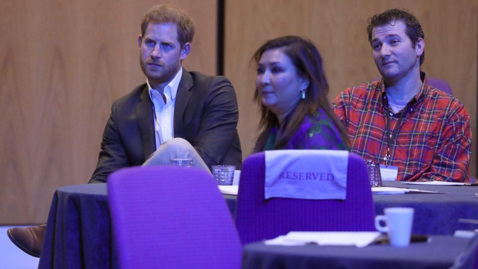 prince harry royal label