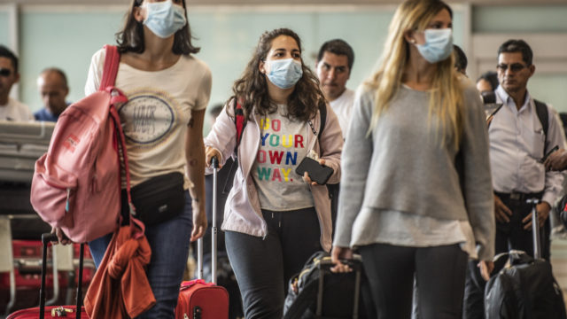 Anyone arriving in Australia will now be quarantined in a hotel for 14 days.