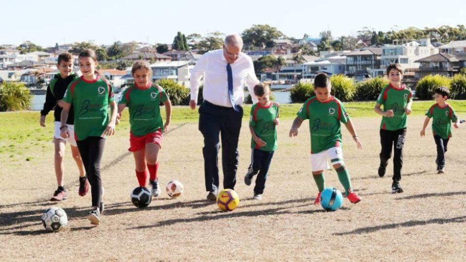 sports rorts scott morrison electorate