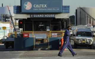 caltex jet fuel shortages