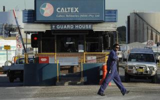 caltex jet fuel shortages