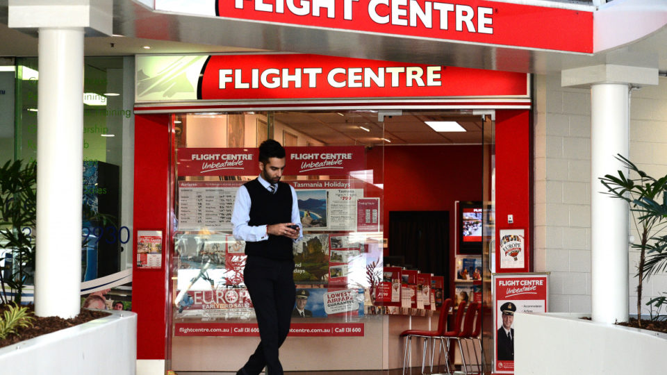 flight centre branches close