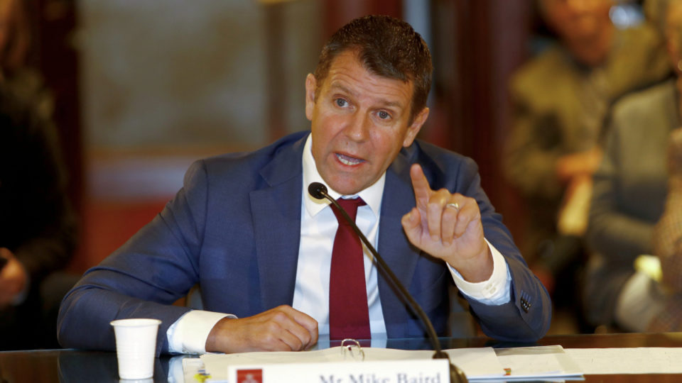 mike baird quits nab