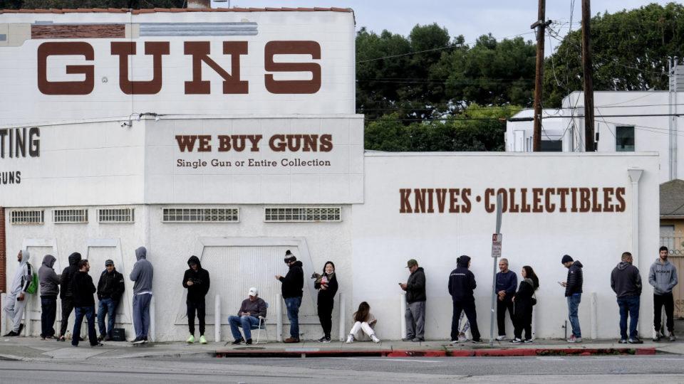 us coronavirus guns