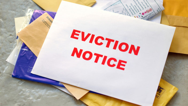 Coronavirus-related evictions will be banned.
