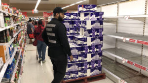 toilet paper mass buying
