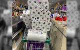 Toilet paper panic buying