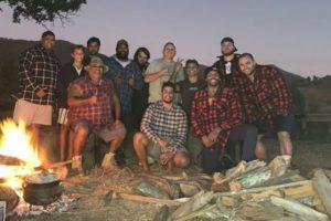 rugby league coronavirus camping