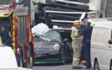 driver police freeway crash