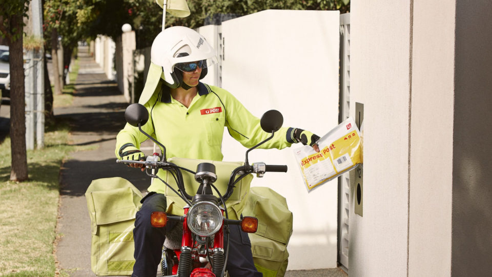 australia post posties parcels