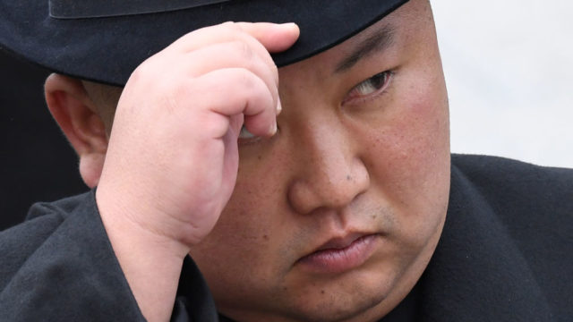 Kim Jong-un reappears and vows to bolster 'nuclear war deterrence', state media reports