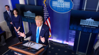 donald trump who funding