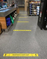 supermarkets coronavirus queue