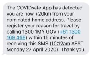 covidsafe app hoax