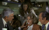 Airplane egg scene