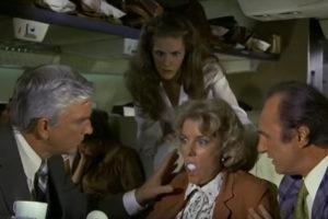 Airplane egg scene