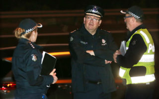 victora police eastern freeway crash
