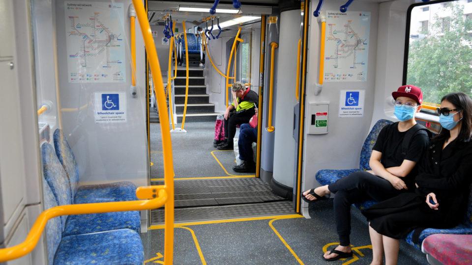 nsw public transport virus