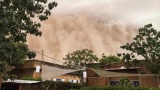 dust storm niger