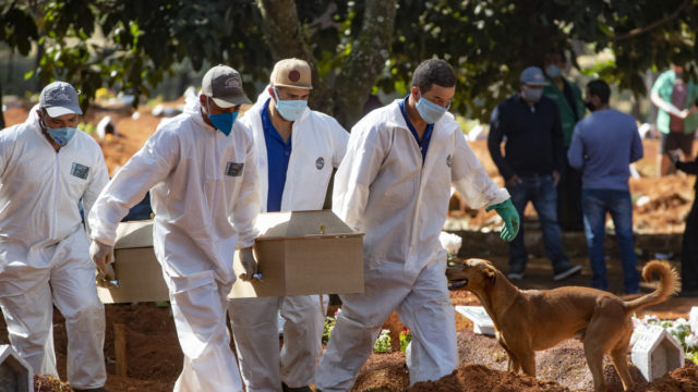 Brazil now has second-highest number of coronavirus cases after US