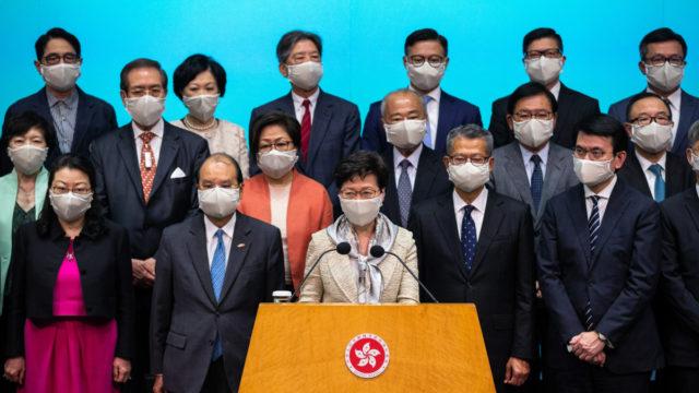 Australia 'deeply concerned' at Hong Kong laws