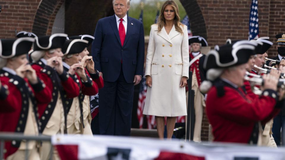 donald trump memorial day