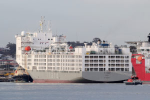 export ship virus perth