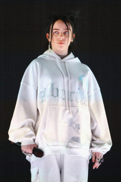 Billie Eilish performs at Outdoor Theatre during the 2019 Coachella Valley Music And Arts Festival