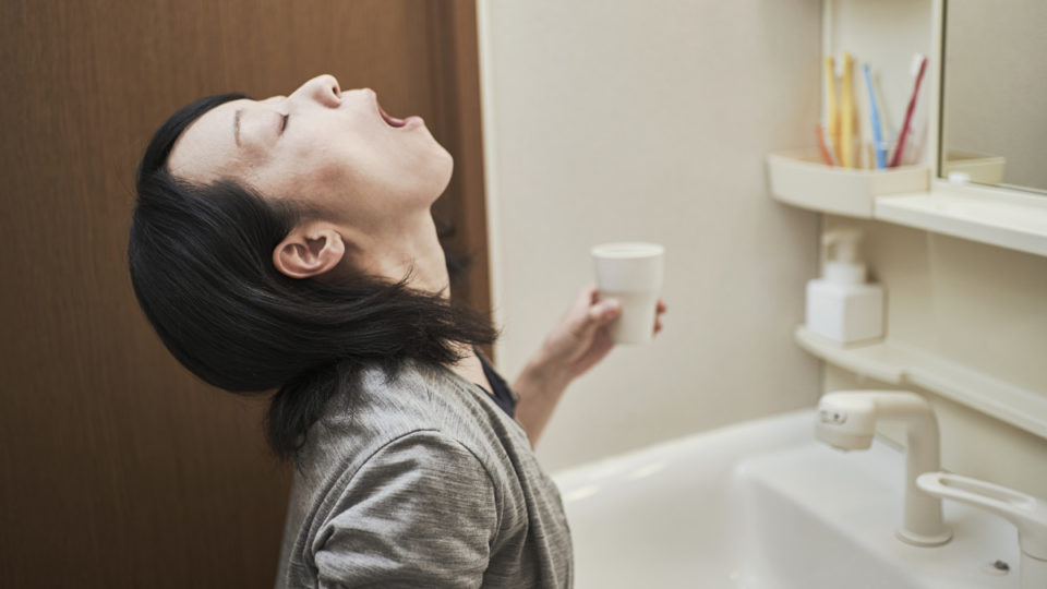 Hard to swallow: Gargling may reduce spread of COVID-19