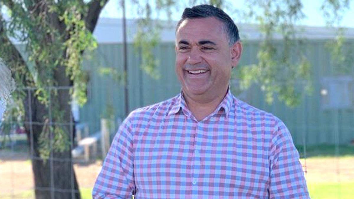 Police Investigate Barilaro S Trip To Family Farm Amid Coronavirus Lockdown