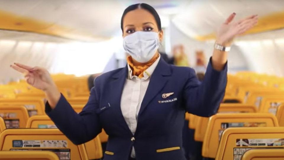 ryanair flights coronavirus