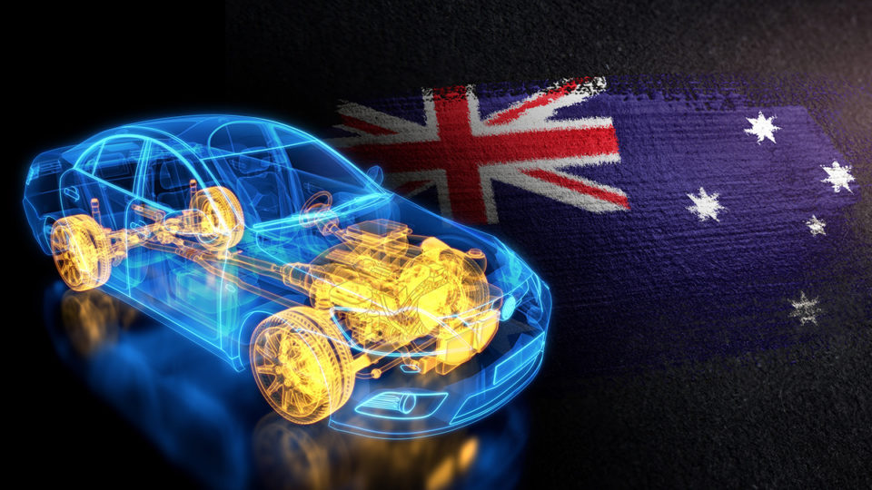 Australia could be a major supplier of electric car components.